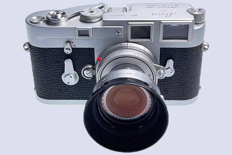 Leica-M3 mit Elmar Objektiv