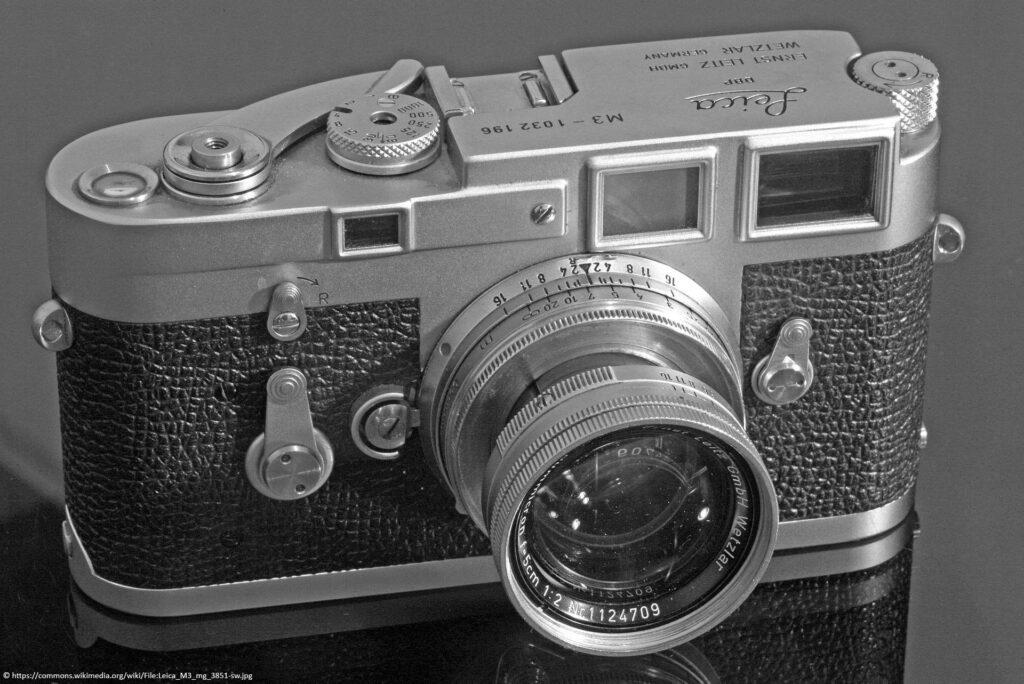 Leica M3 Kamera mit 50mm Objektiv
