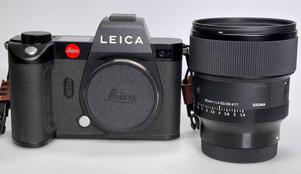 Leica SL2 mit L-Mount Sigma ƒ1.4 85mm