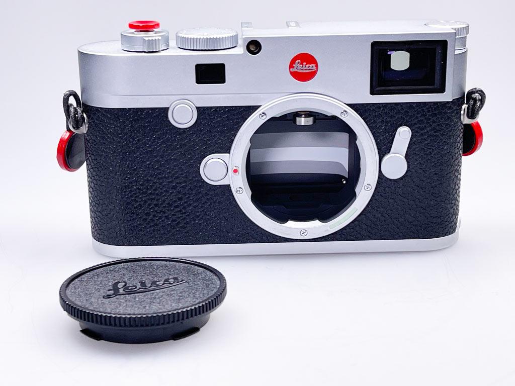 Leica M10-R mit Blick auf den Verschluss