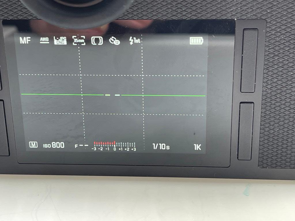 Leica SL Display