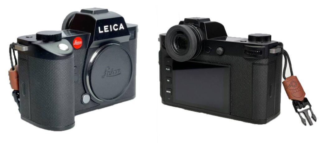 Gegenüberstellung der Leica SL und Leica SL2