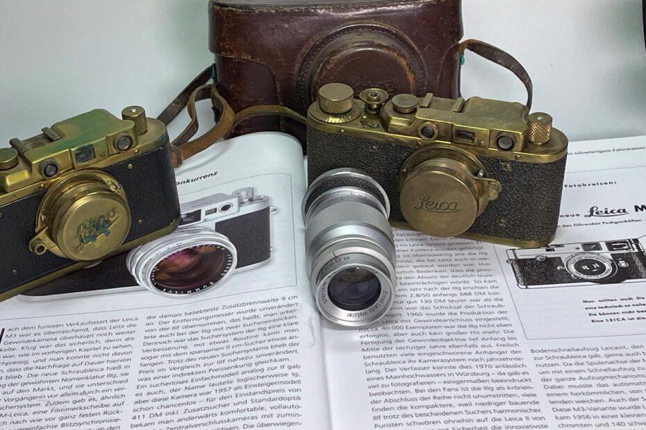 Verkauf alter Kameras