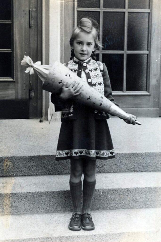 Foto mit der IIIf aufgenommen 1953