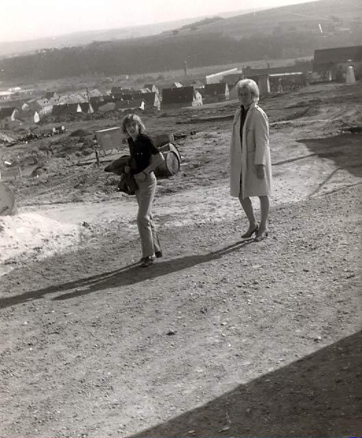 Meine Mutter und ich fotografiert mit der M3