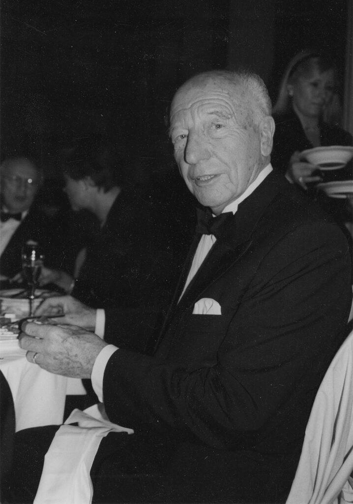 Ex Bundespräsident Walter Scheel, fotografiert mit der Leica M6