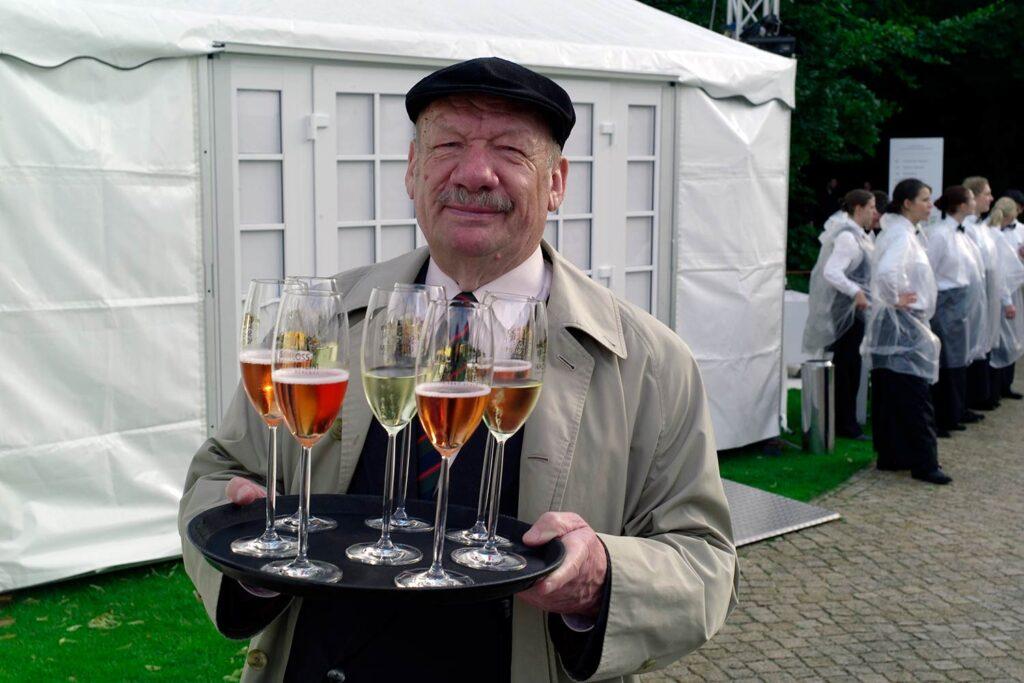 Leica M8: Wolfgang Völz beim Gartenfest des Bundespräsidenten