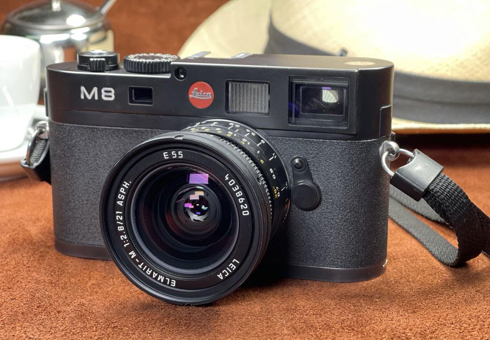 Leica M8, gehört zum Leica M-System