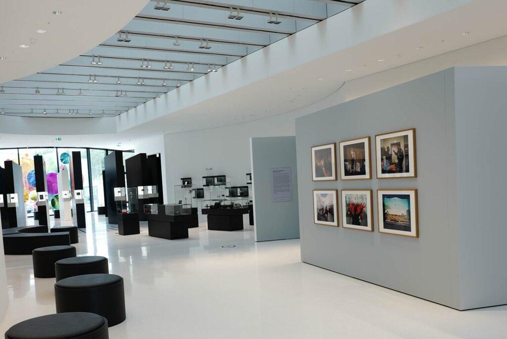 Im Leica Gebäude erwartet mich noch eine Ausstellung