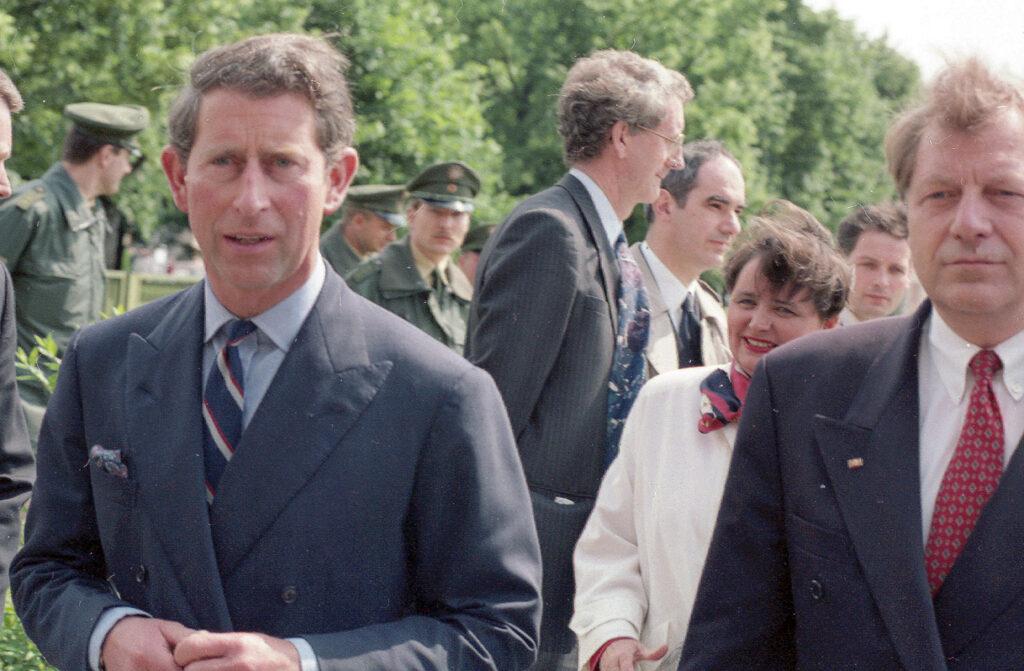 Prinz Charles zukünftiger König von England