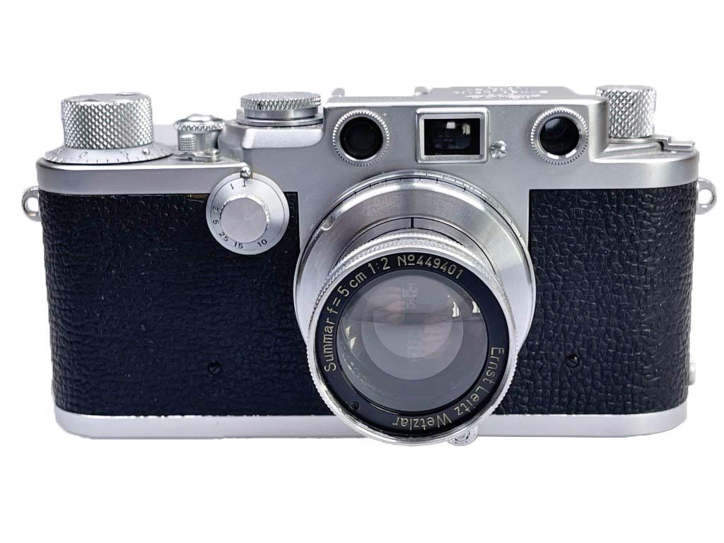 Das ist meine persönliche Leica IIIf, Baujahr 1953