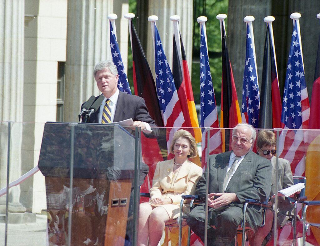 Bill Clinton und Helmut Kohl am 12.Juli 1993 in Berlin. Aufgenommen mit meiner M6 und einem 90mm Summicron