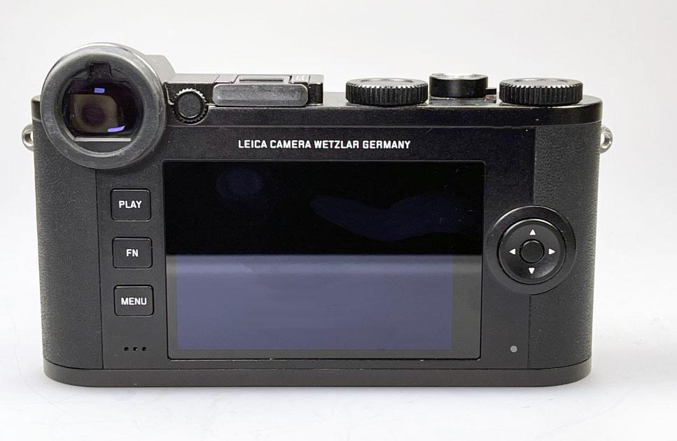 Die Rückseite der Leica CL