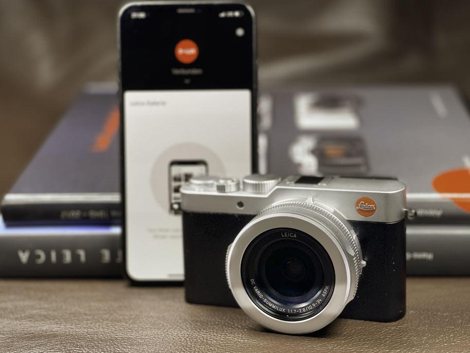 Leica FOTOS App und D-Lux 7 ist im Handumdrehen hergestellt