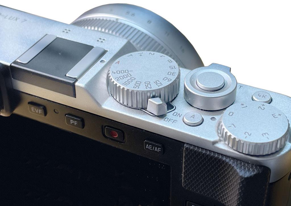 Bedienkonzept der Leica D-Lux 7