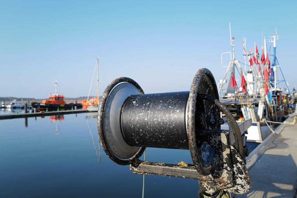Leica Q2: Ostsee Hafen Fischerei-Boot