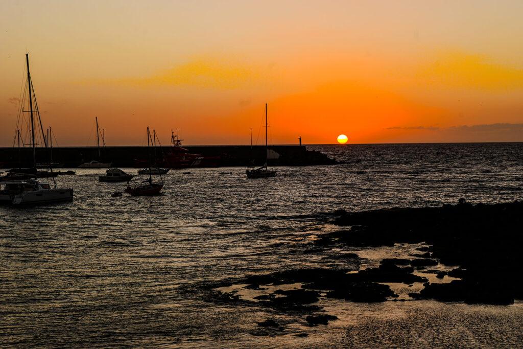 Sonnenuntergang in Spanien, mit der Leica SL aufgenommen