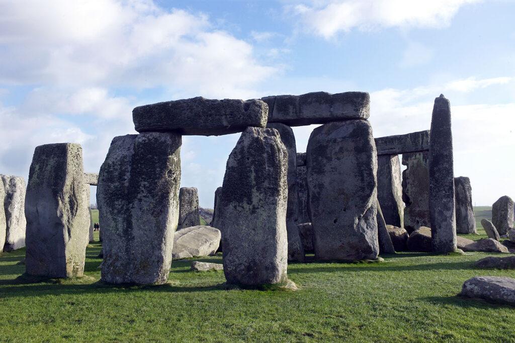 Stonehenge in England in der Mittagssonne mit meinem Summicron 35mm
