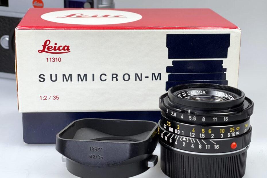 Leica-Summicron M 35mm king of bokeh