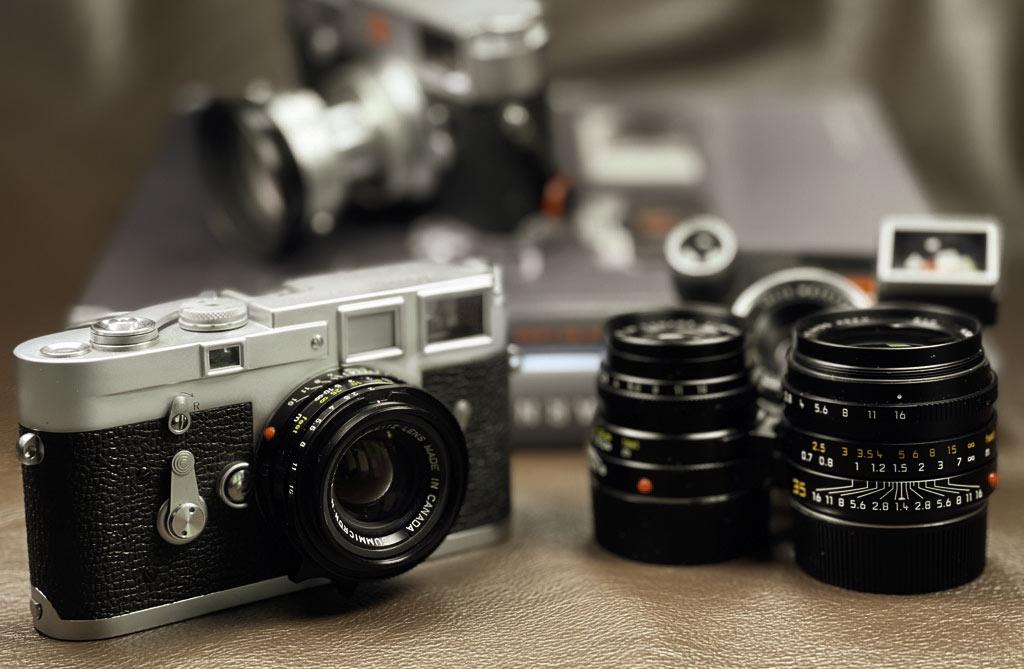 """Meine Leica M3 mit dem 35mm Summicron """"King of Bokeh"""""""