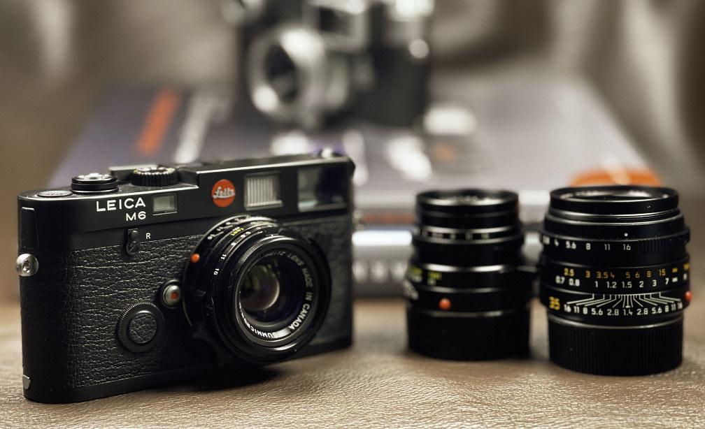 """Meine Leica M6 mit dem 35mm Summicron """"King of Bokeh"""""""