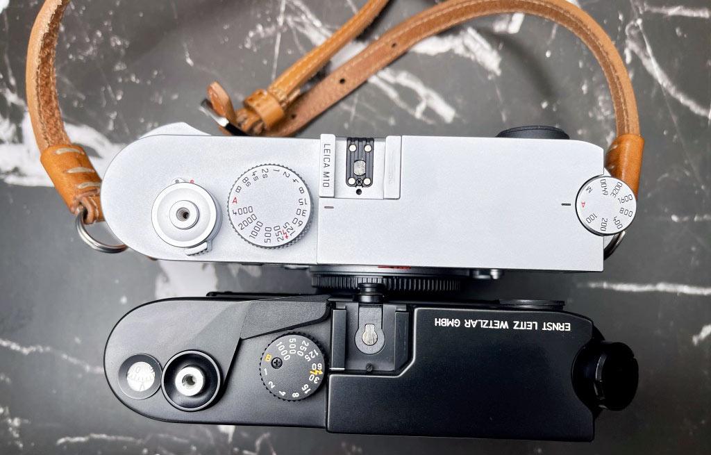 Meine Leica M10 und meine M6