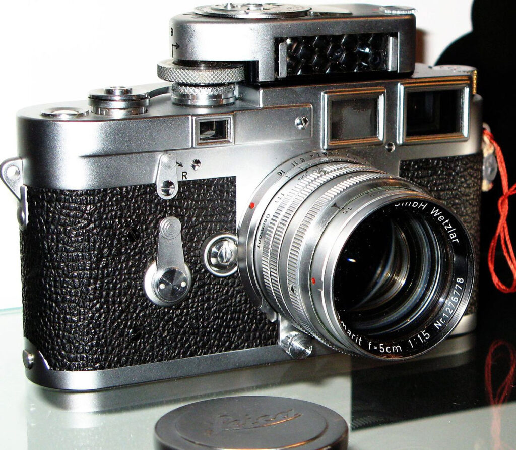 Leica M3 mit einem Leicameter MC