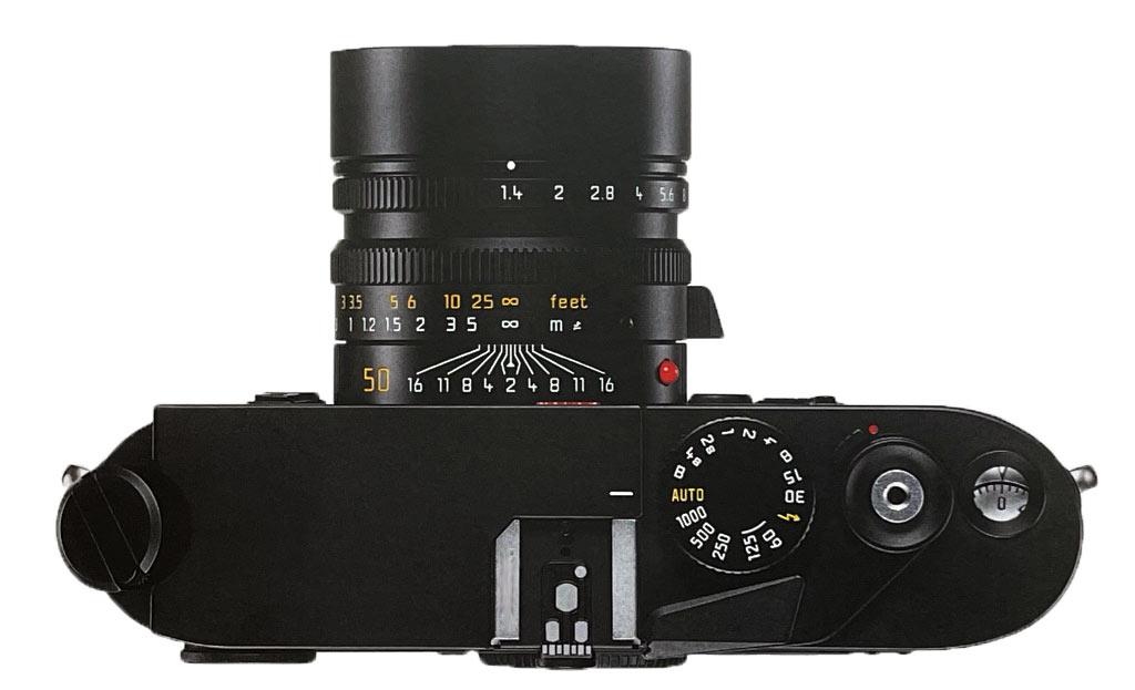 Leica M7 mit Blick von oben