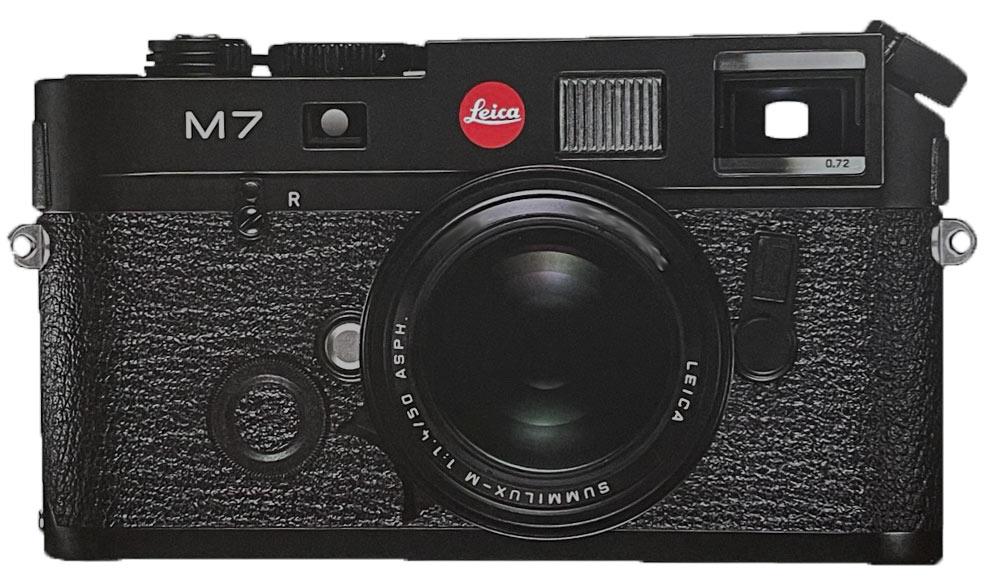 Leica M7, diese Kamera gehört zum Leica M-System