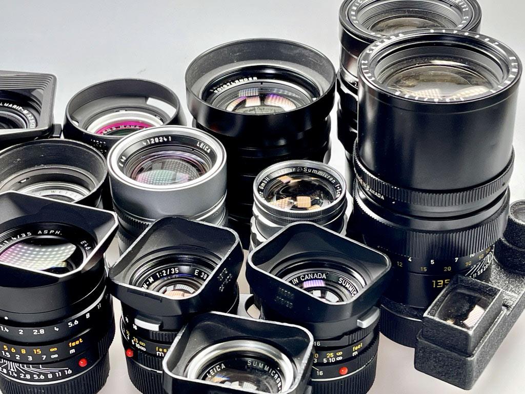 Objektive des Leica M-System