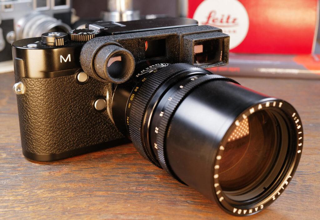 Leica M240 mit Elmarit ƒ2,8 135mm Teleobjektiv