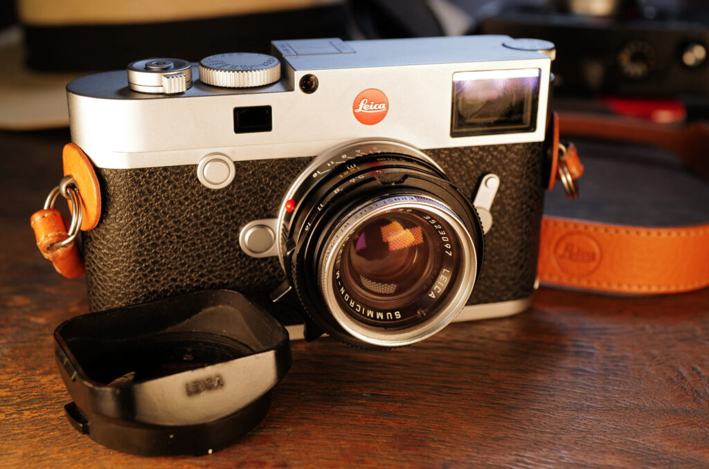 Leica M10 R mit Summicron-M 35mm aus 1991