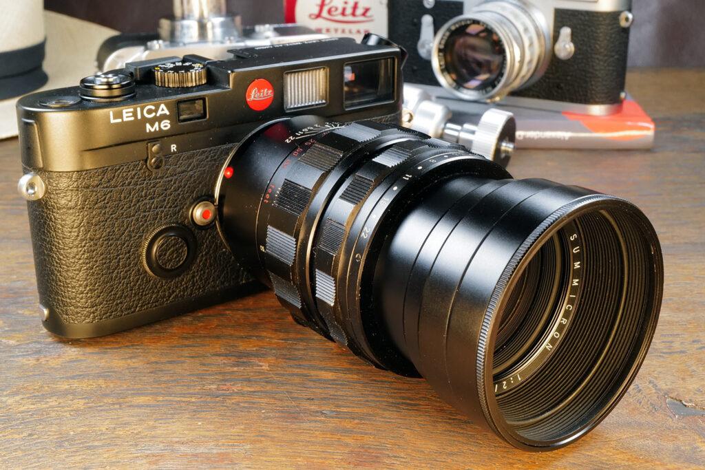 Leica M6 mit dem Summicron-M 90mm