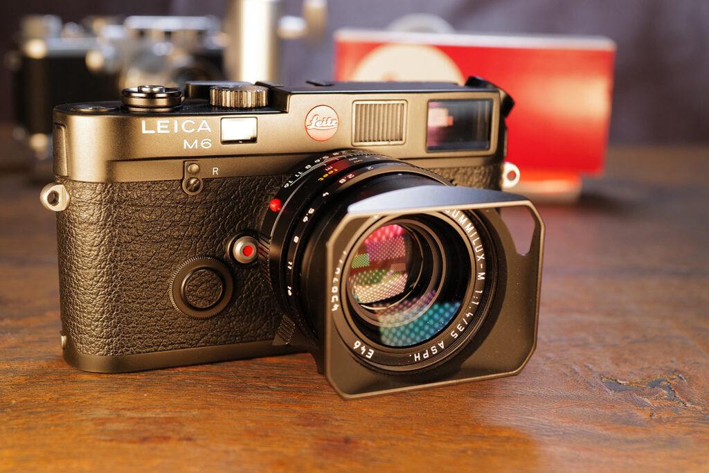 Leica M6 mit dem aktuellen Summilux 35mm ASPH.