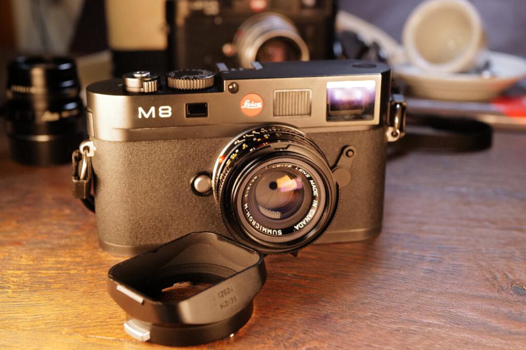 Meine Leica M8 mit dem Summicron 35mm (King of Bokeh)