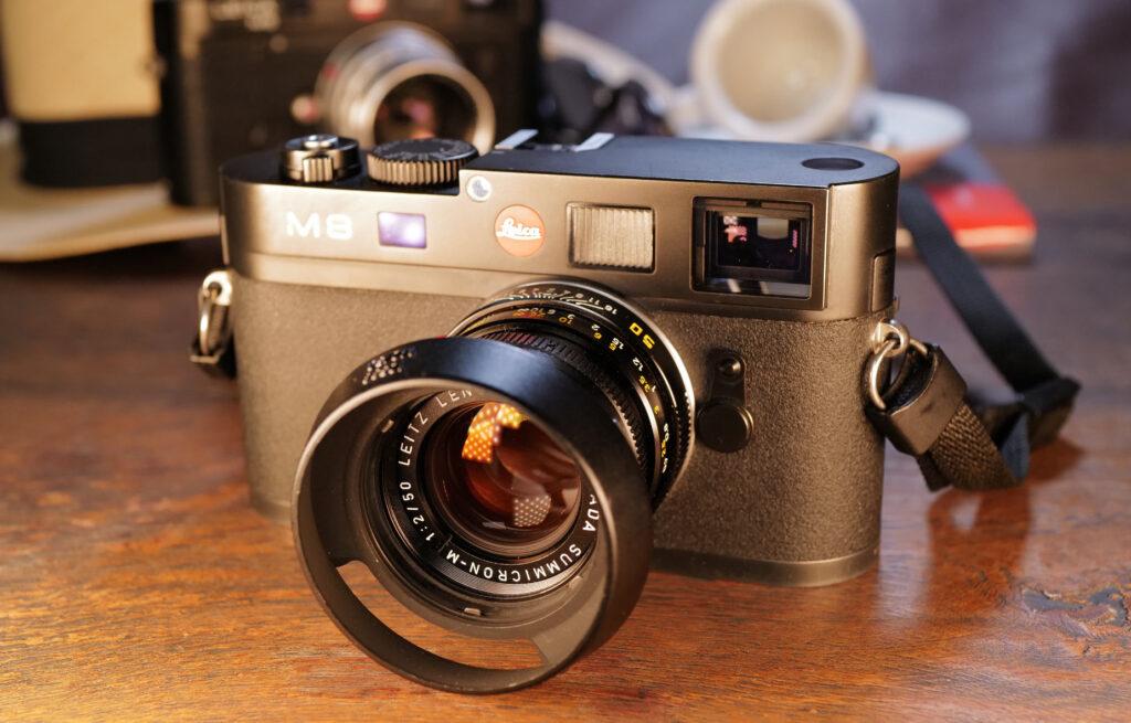Meine Leica M8 mit dem 50mm Summicron aus Canada