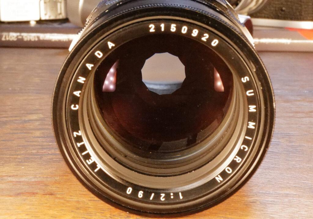 Mein Leica Summicron-M 90mm mit 12 Lamellen