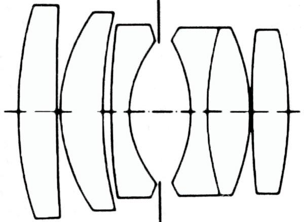 Querschnitt des Summicron-M 90mm