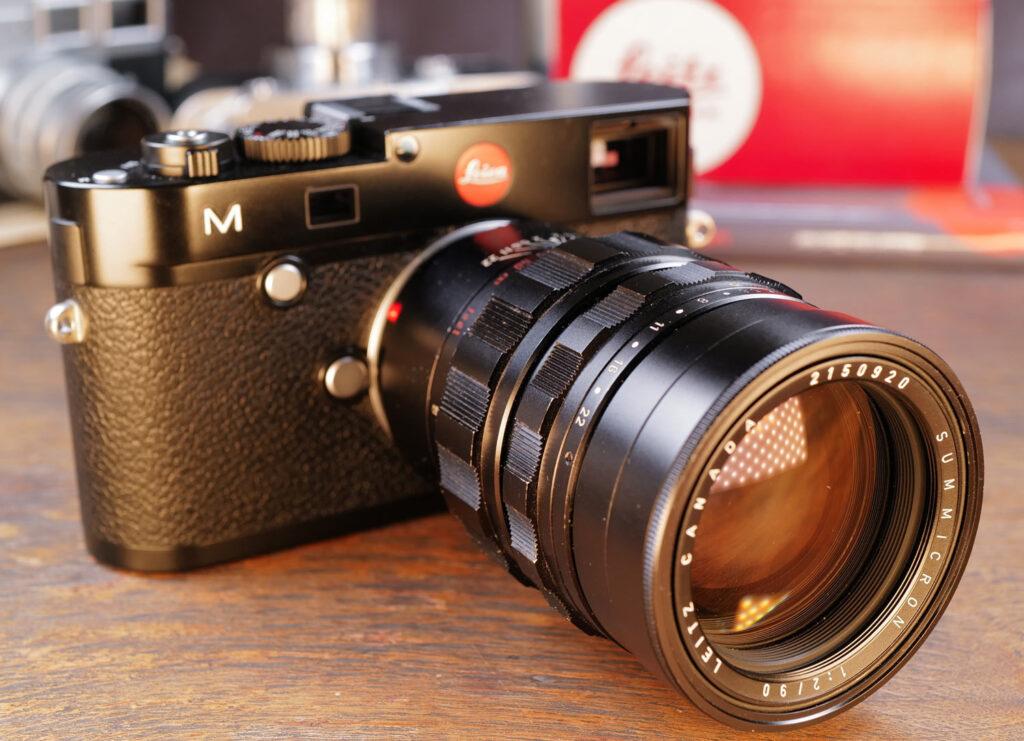 Leica Summicron-M 90mm an Leica M240