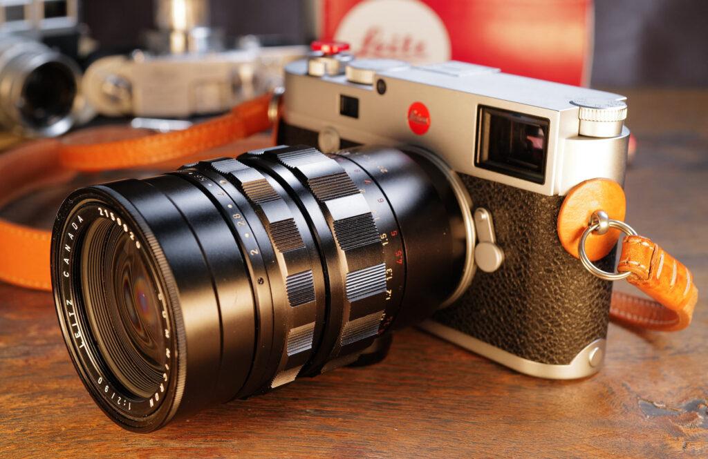 Mein Leica Summicron-M 90mm (1965) an meiner Leica M10-R (2020)
