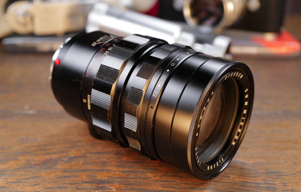 Mein Leica Summilux-M 90mm liegend