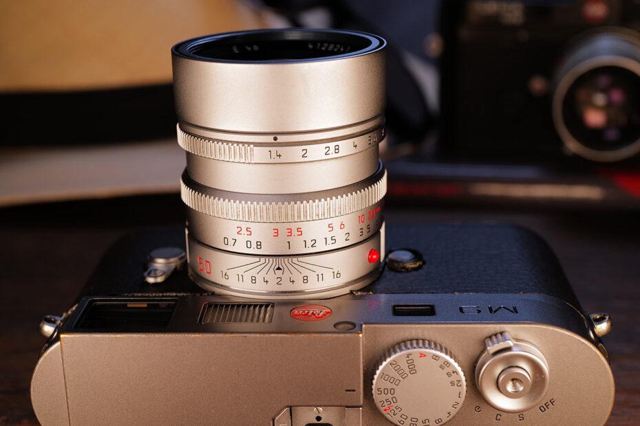 Leica Summilux-M 50mm an einer M9