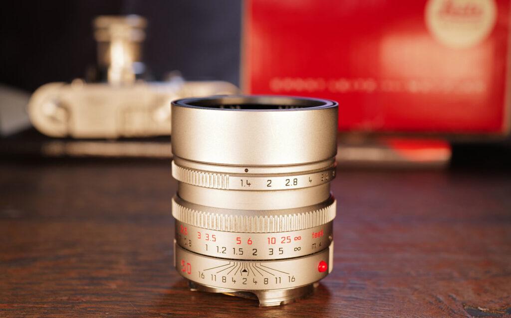 Mein Leica Summilux 50mm ƒ1,4 in silber
