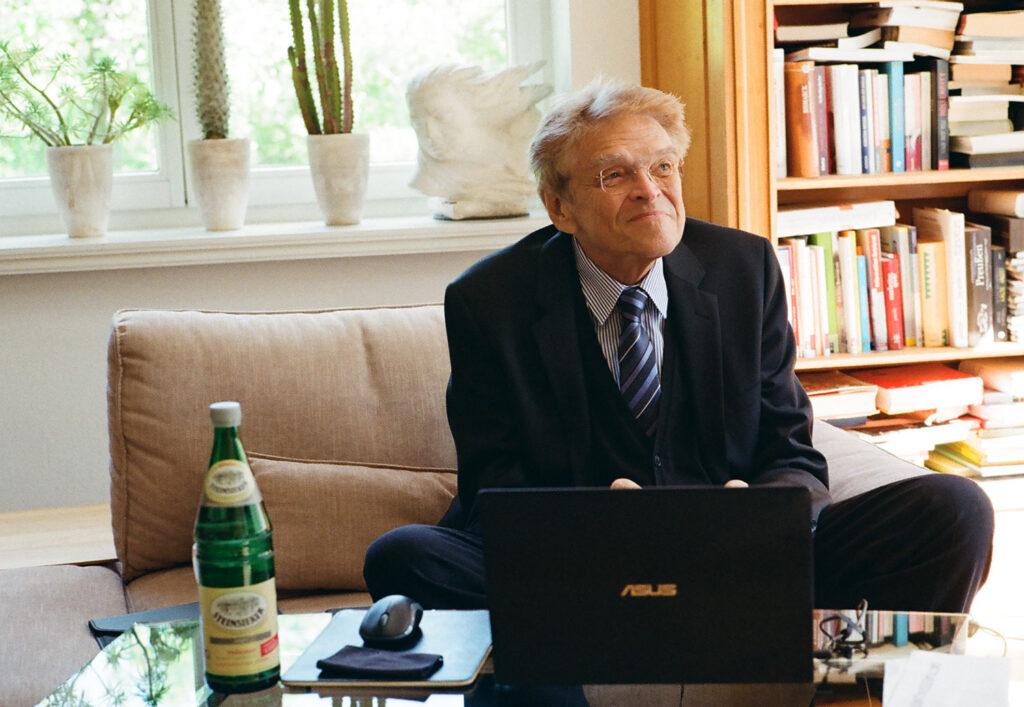Prof. Dr. Hermann Eichstädt: fotografiert mit meiner Leica M6