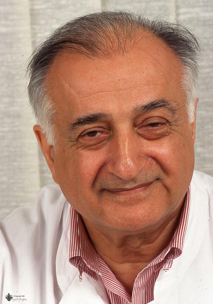 Dr. Djawad Moschiry fotografiert mit meiner Leica M6