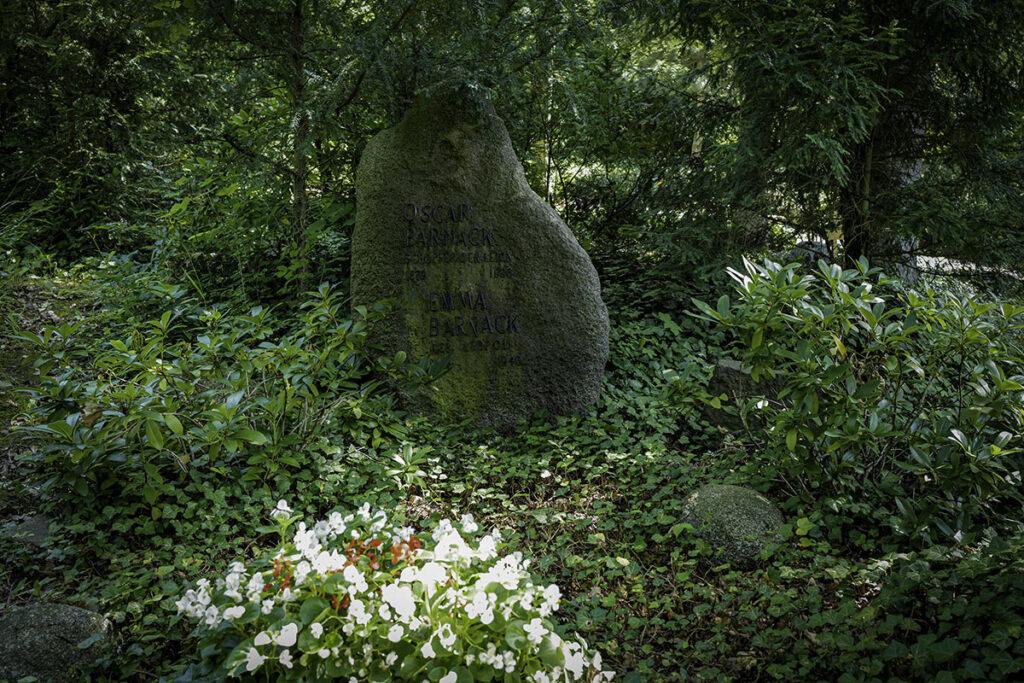 Oskar Barnack Grabstätte auf dem alten Wetzlarer Friedhof. Fotografiert mit der Leica Q2