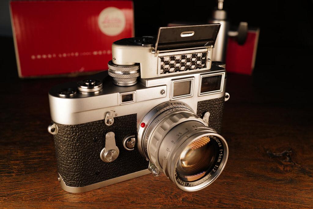 Leica M3 mit Leicameter MC