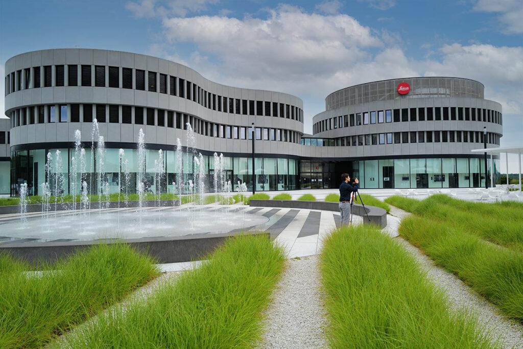 Das neue Leica Werk in Wetzlar im Juli 2021